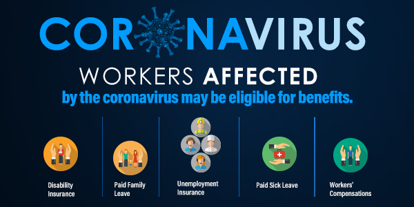 If you are a worker affected by the coronavirus we can assist you.
