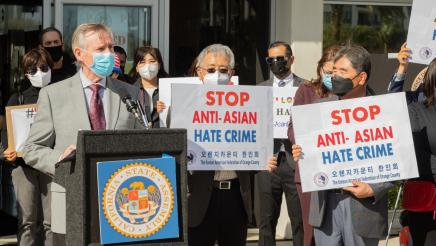 Anti-Hate Press Conference